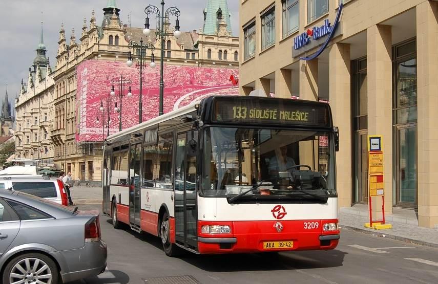 Схема транспорта в Праге