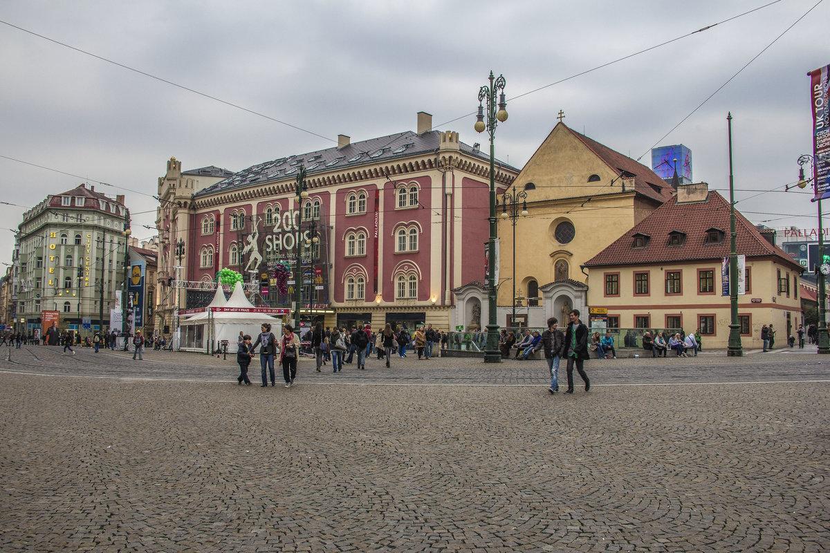 Палладиум в Праге