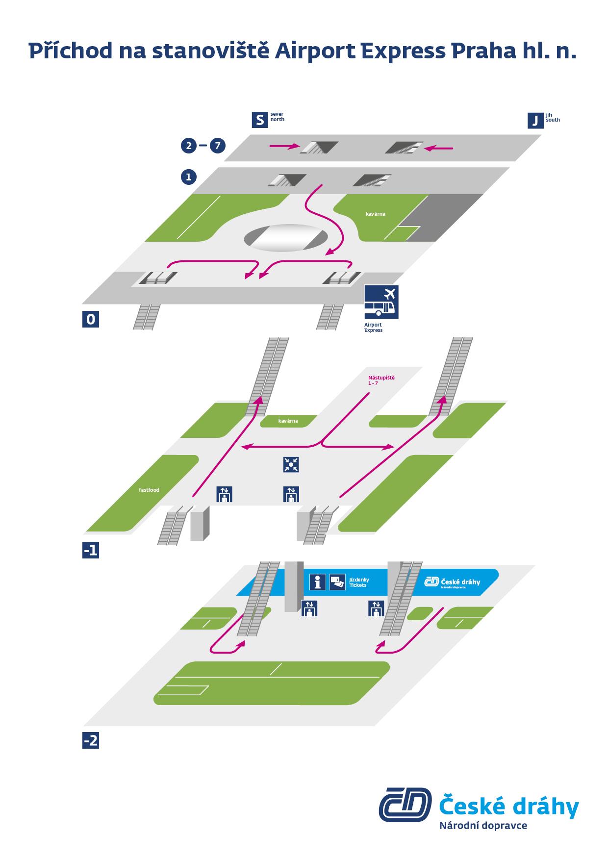 Как найти остановку автобусаAirport Express