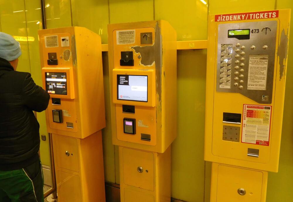 Где и как купить проездной билет в Праге