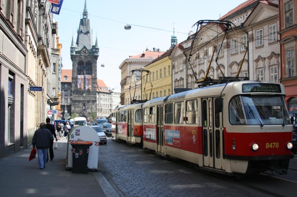 Все про общественный транспорт Праги