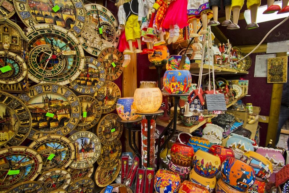 Где купить сувениры в Праге