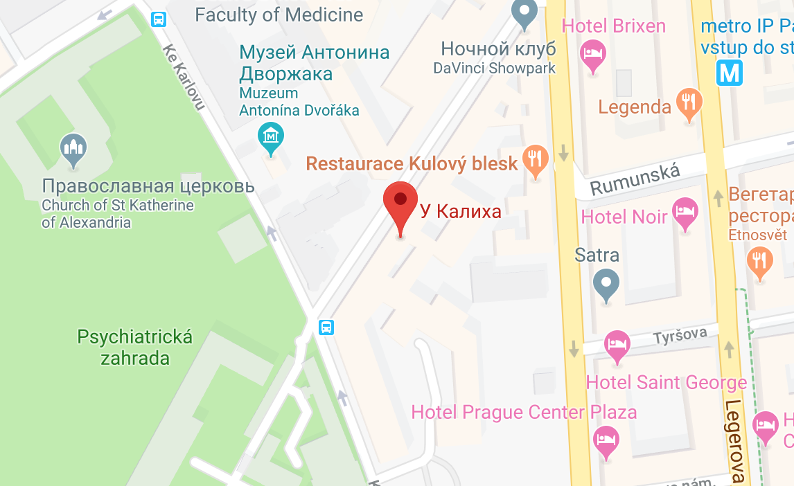 РесторанU Kalicha на карте