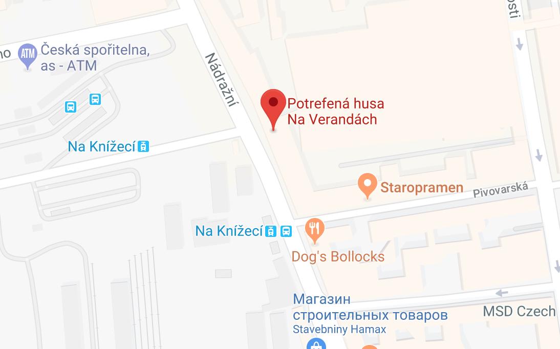 Ресторан «На верандах» на карте