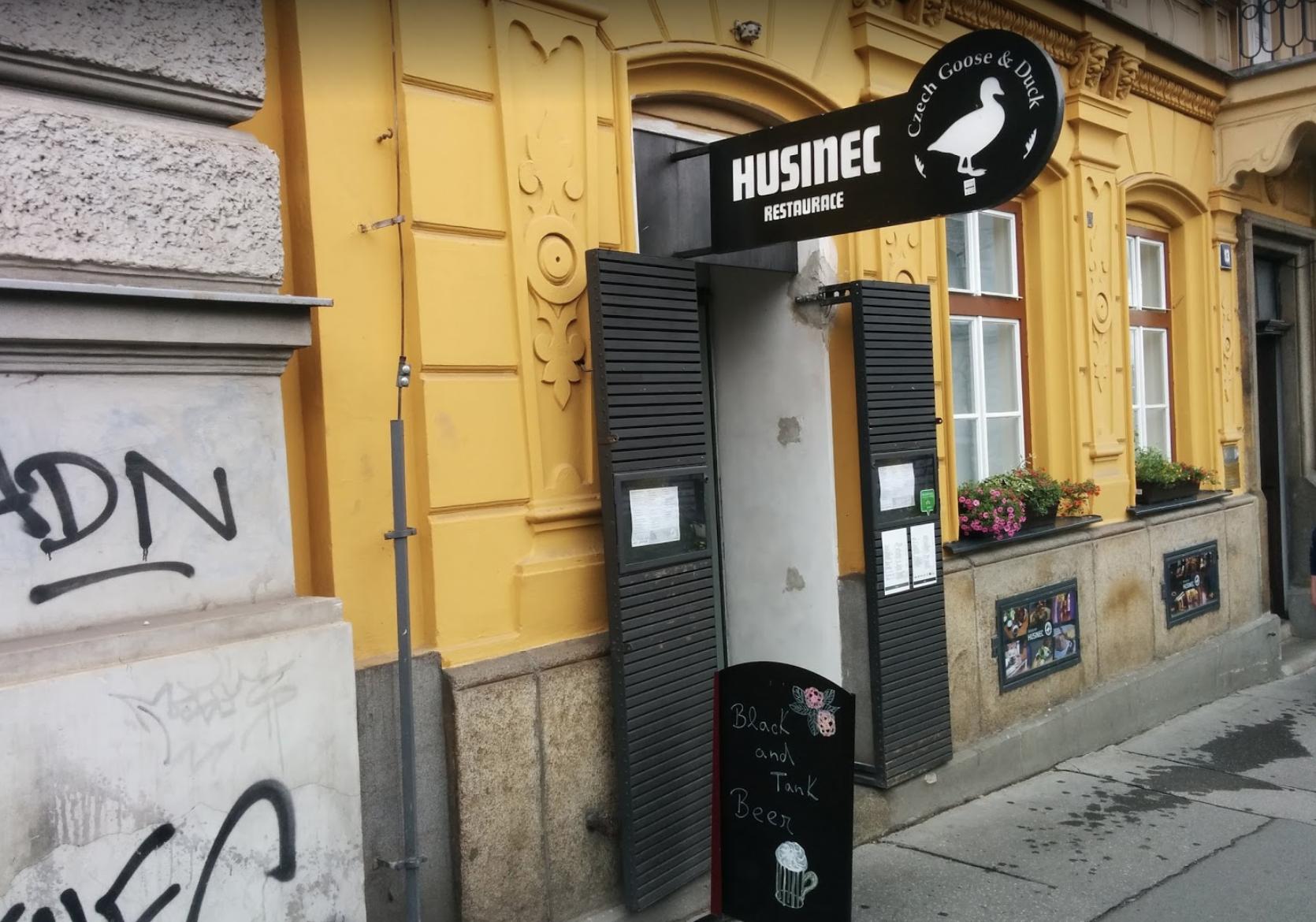Ресторан Husinec в Праге