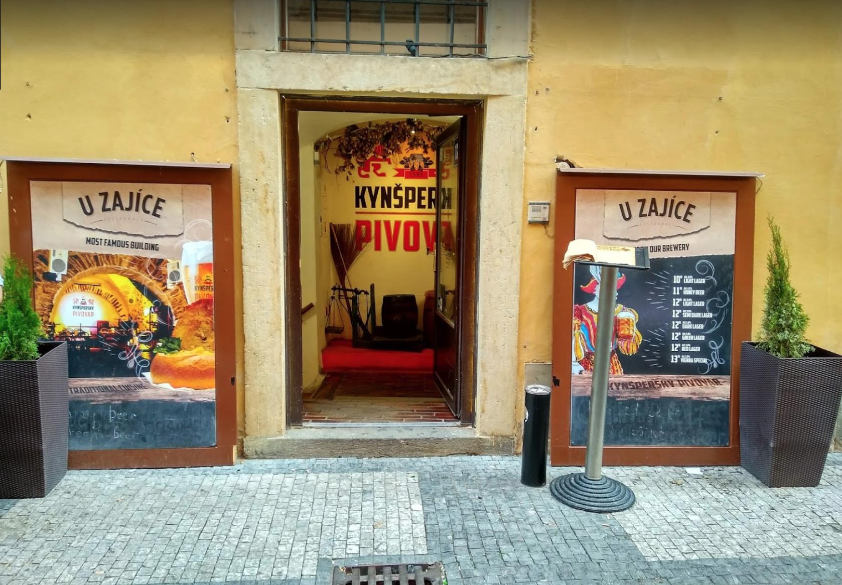 Ресторан-пивная U Zajíce