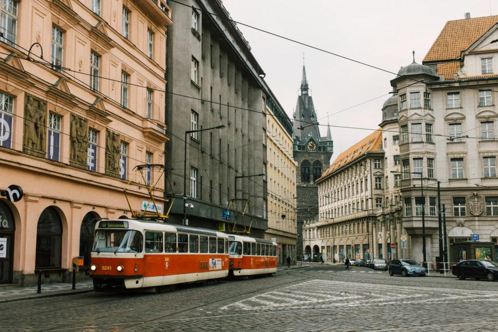 Все районы Праги
