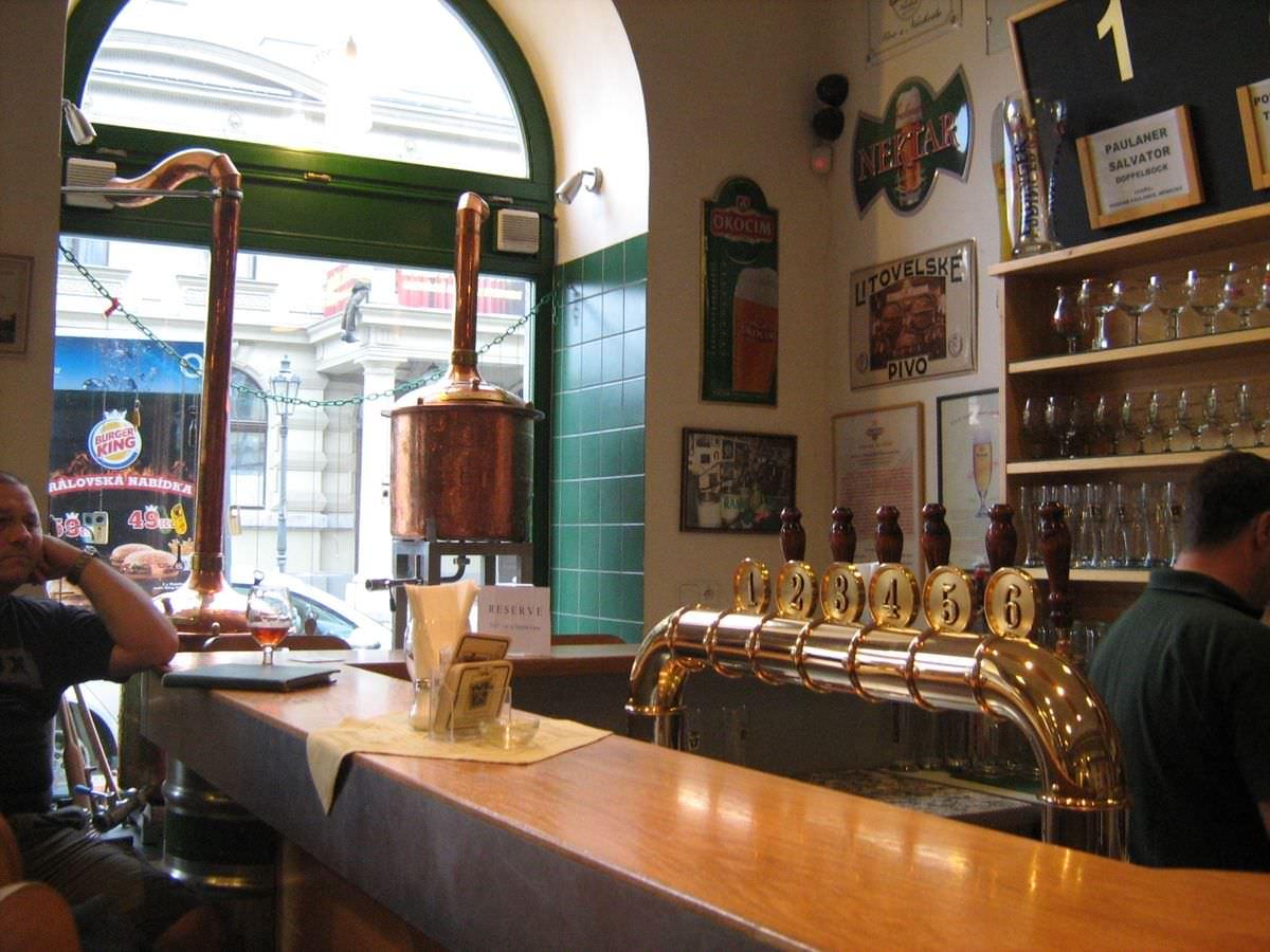 Пивной ресторан Pivovarsky klub
