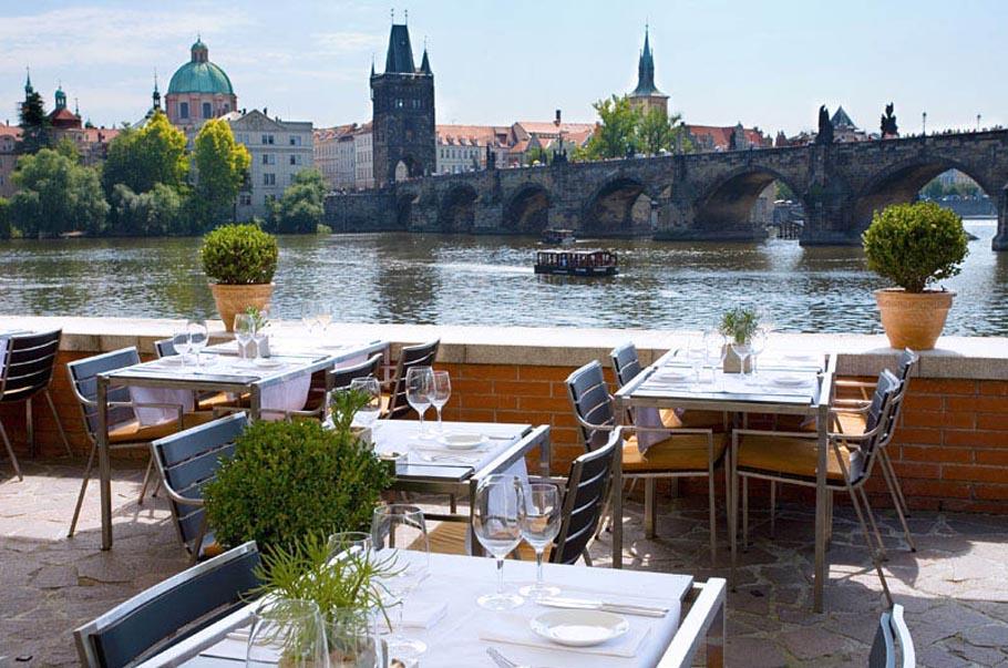 Ресторан Hergetova Cihelna в Праге