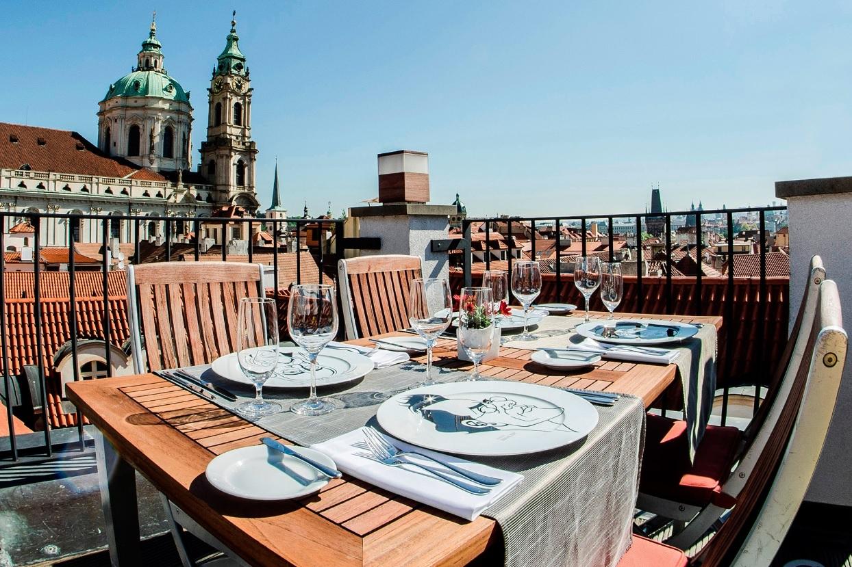 Ресторан Coda в Праге