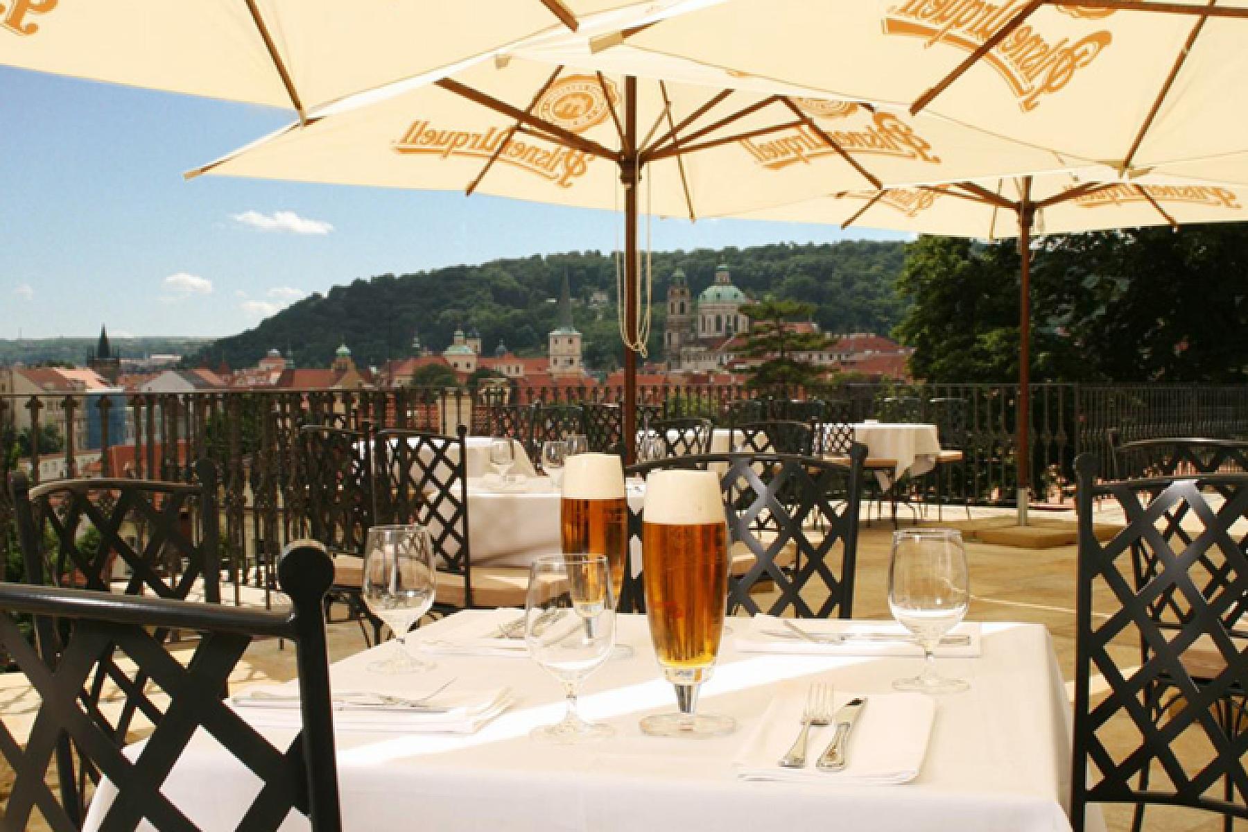 Ресторан Villa Richter в Праге
