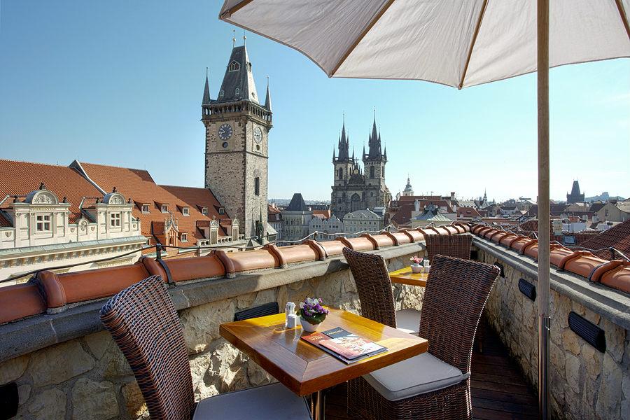 Рестораны в Праге с панорамным видом