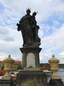 Карлов мост в Праге: скульптуры + фото