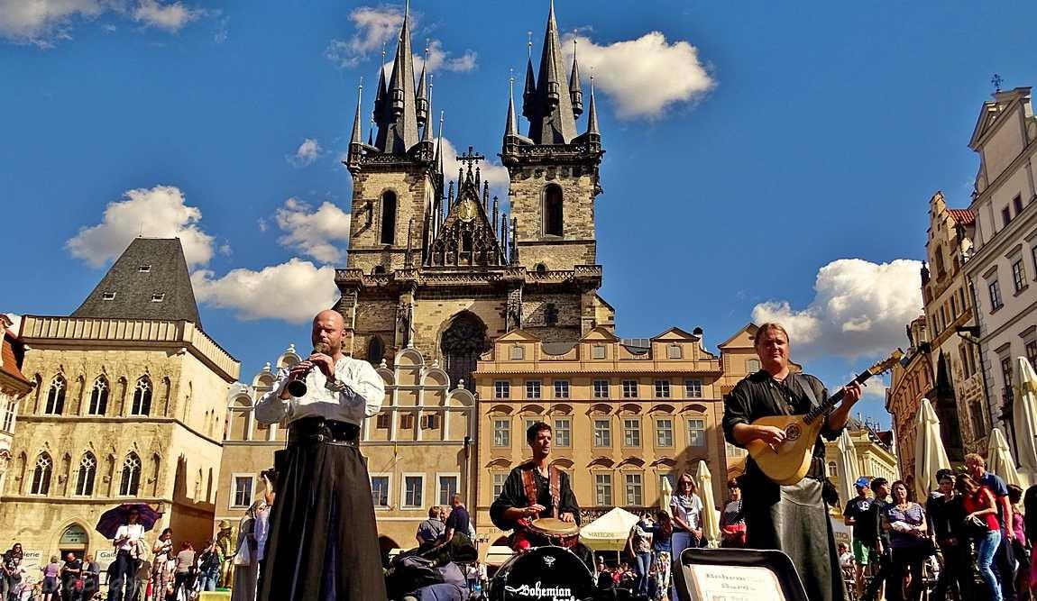 Достопримечательности Праги в сентябре