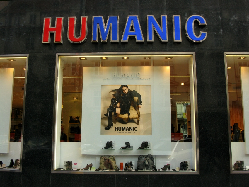 Магазин Humanic в Праге