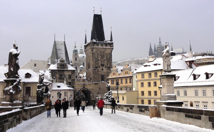 Отдых в Праге в декабре
