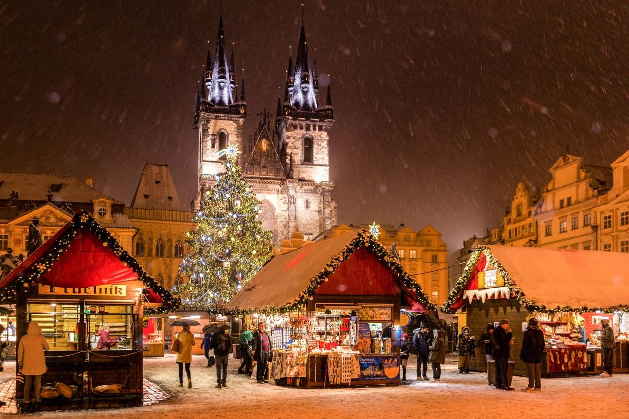 Ярмарки в Праге в декабре