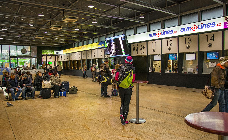 Автовокзал Флоренц внутри