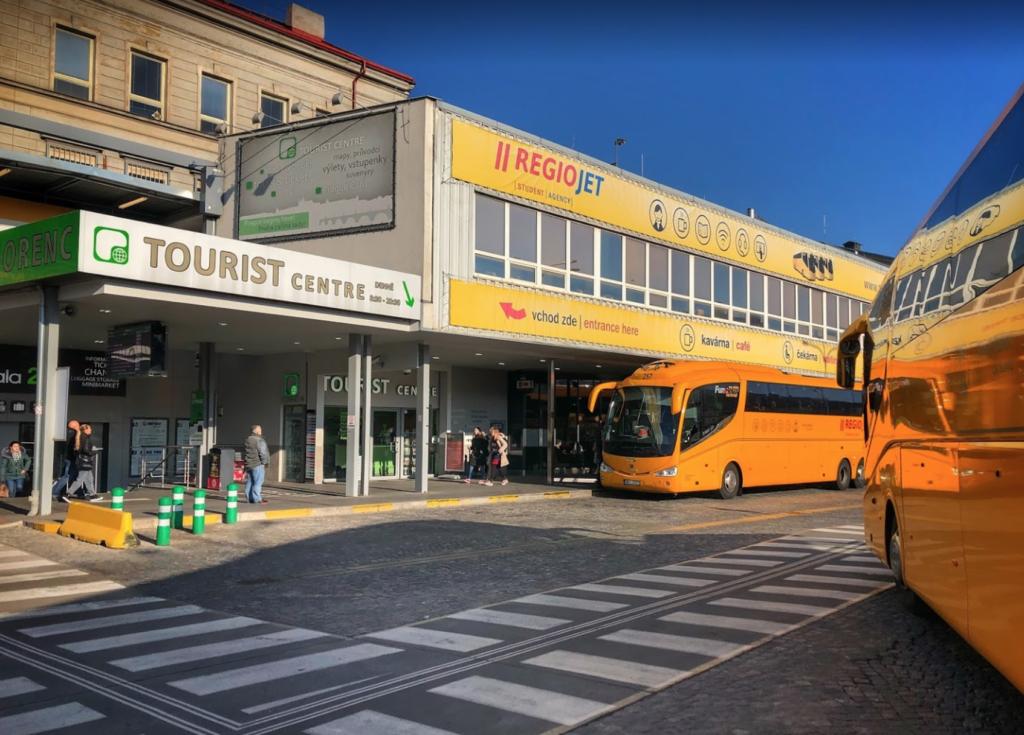 Все про автовокзал Флоренц в Праге (Чехия)
