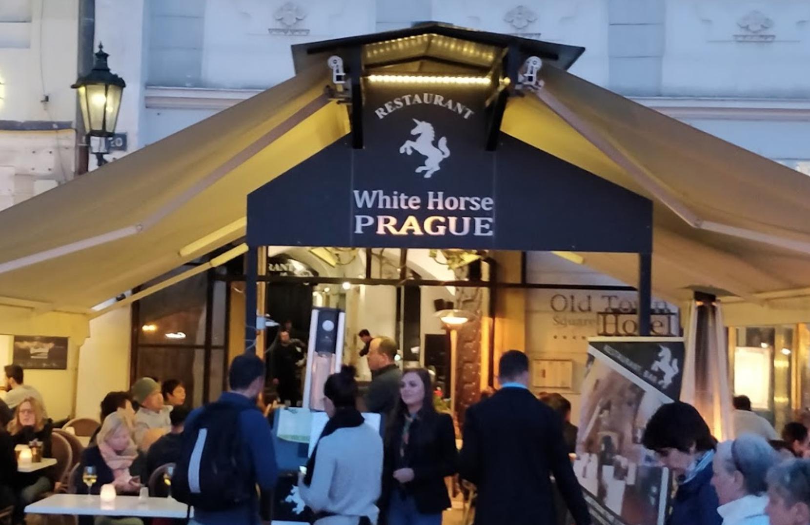 Ресторан White Horse Prague