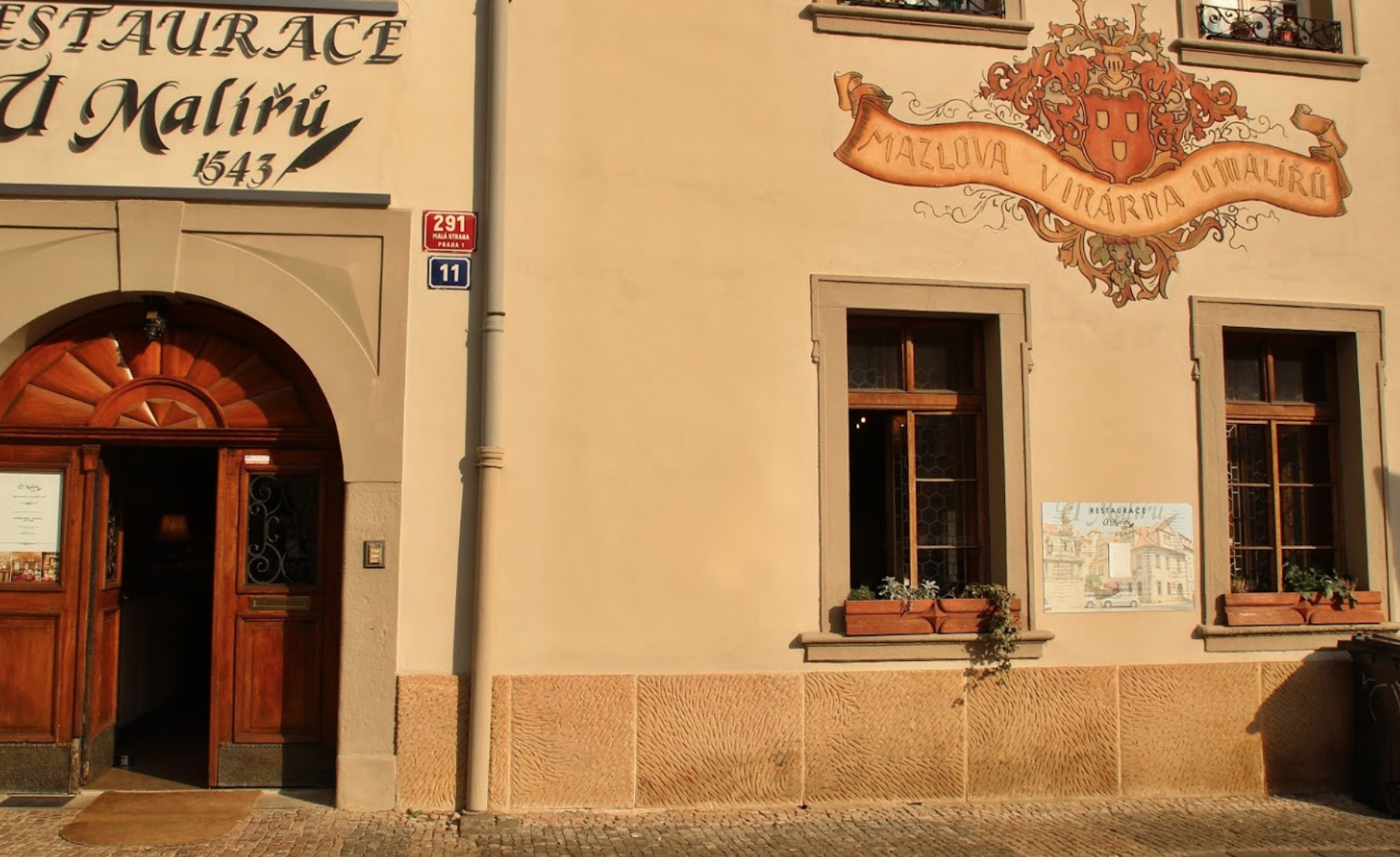 Ресторан U Maliru 1543