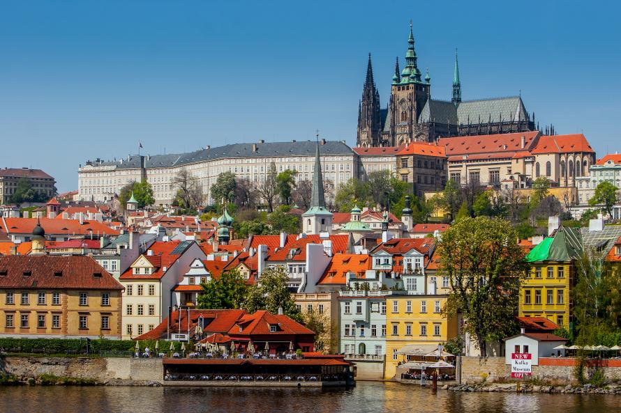 Прогулки в Праге в июле