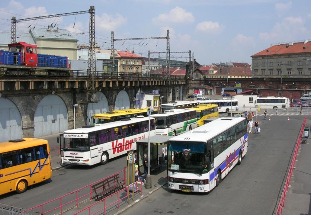 Вокзал Флоренц в Праге