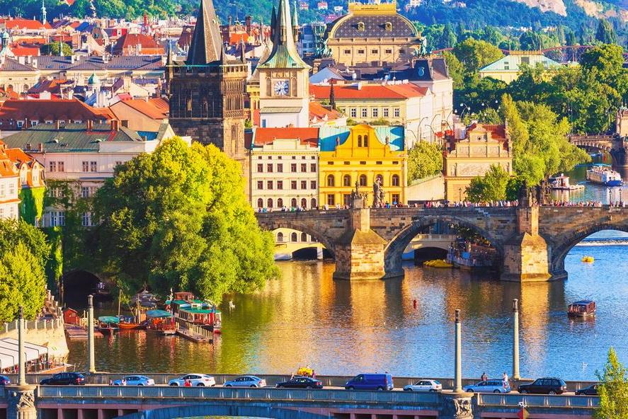 Отдых в Праге в июле