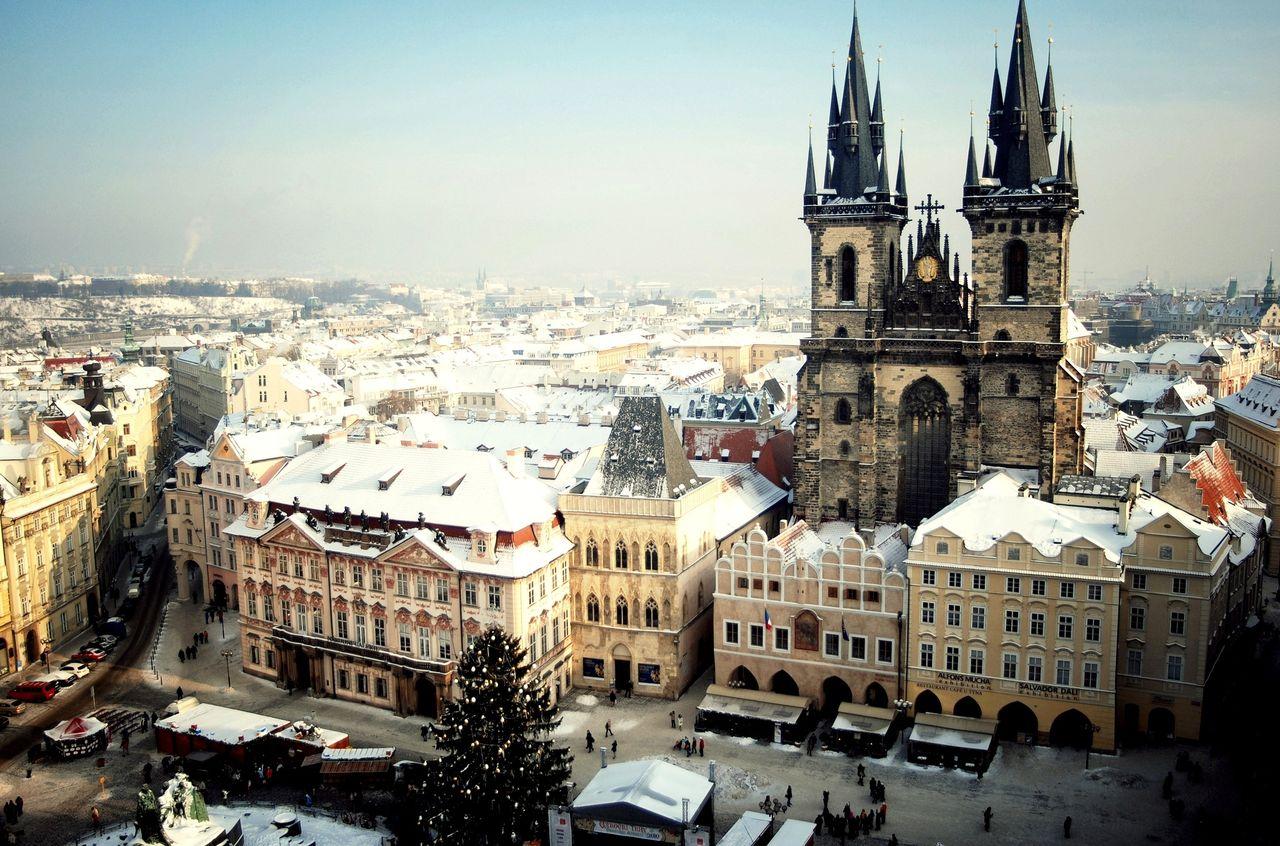Что смотреть в Праге в декабре