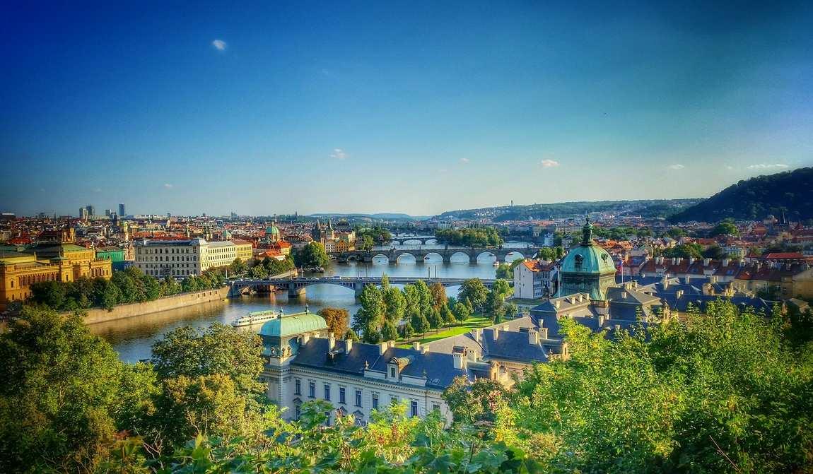 Прага в июле
