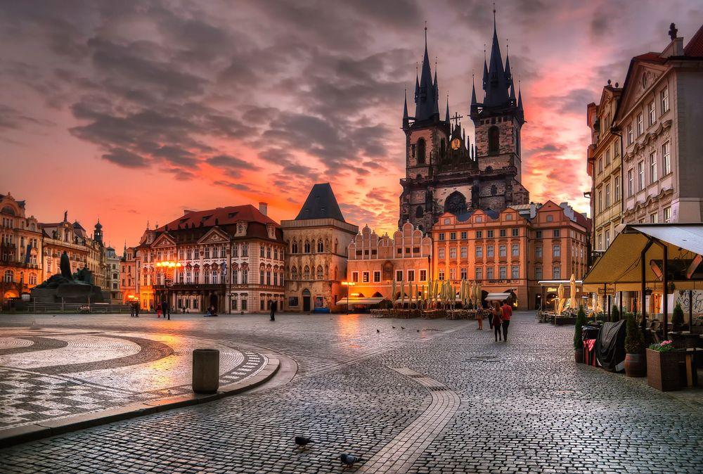 Одежда в Праге в октябре