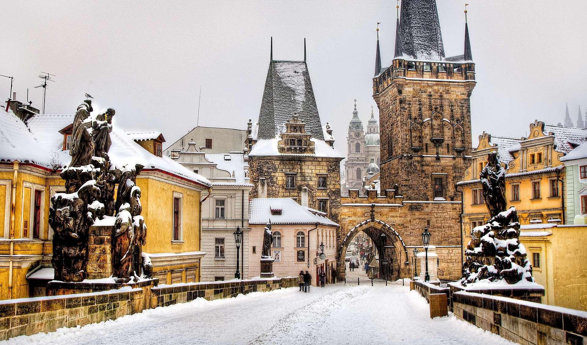 Отдых в Праге в январе