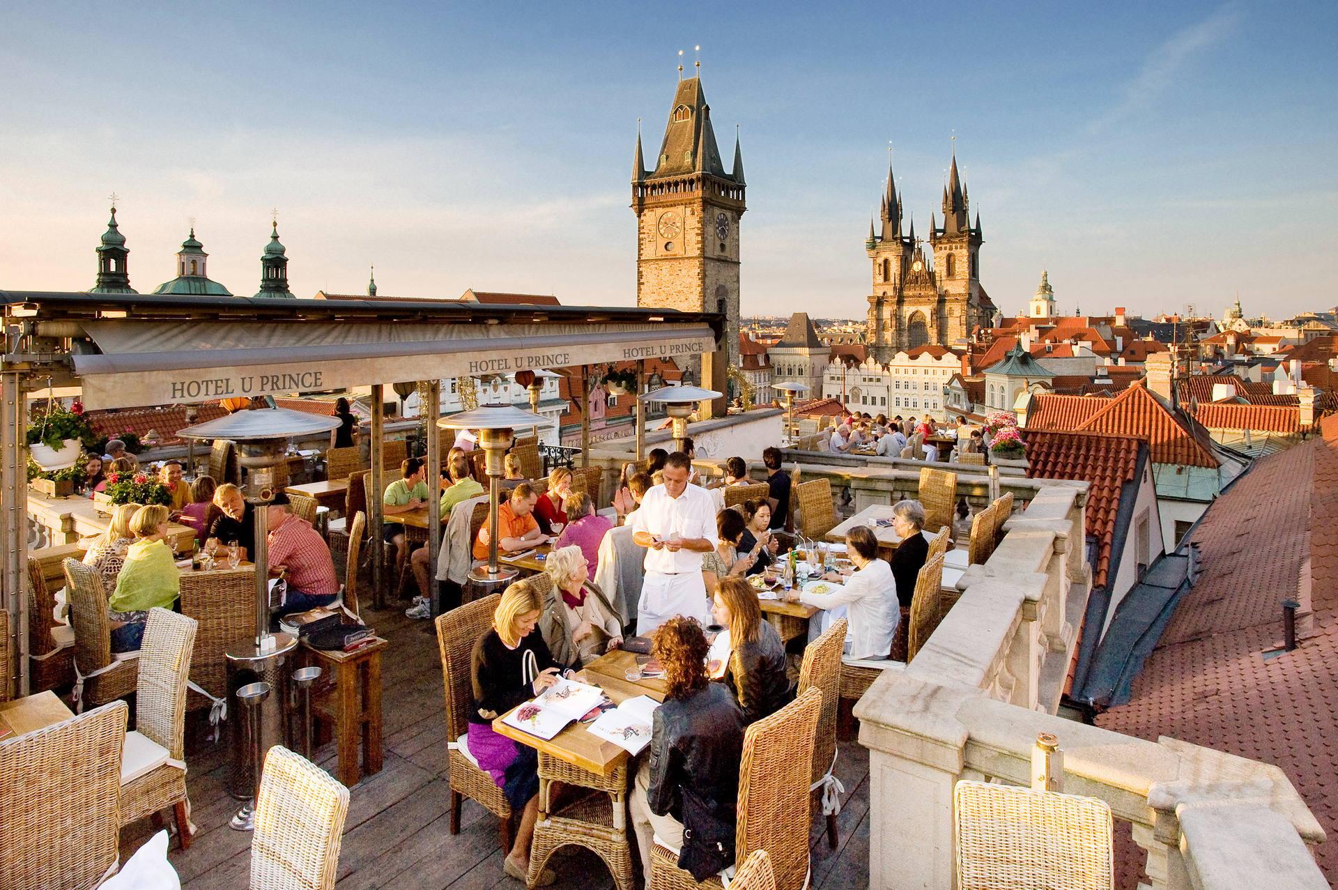Сколько стоит поесть в Праге