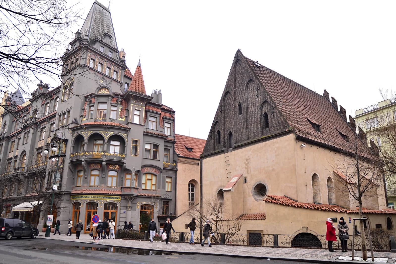 Фото в Еврейском квартале в Праге