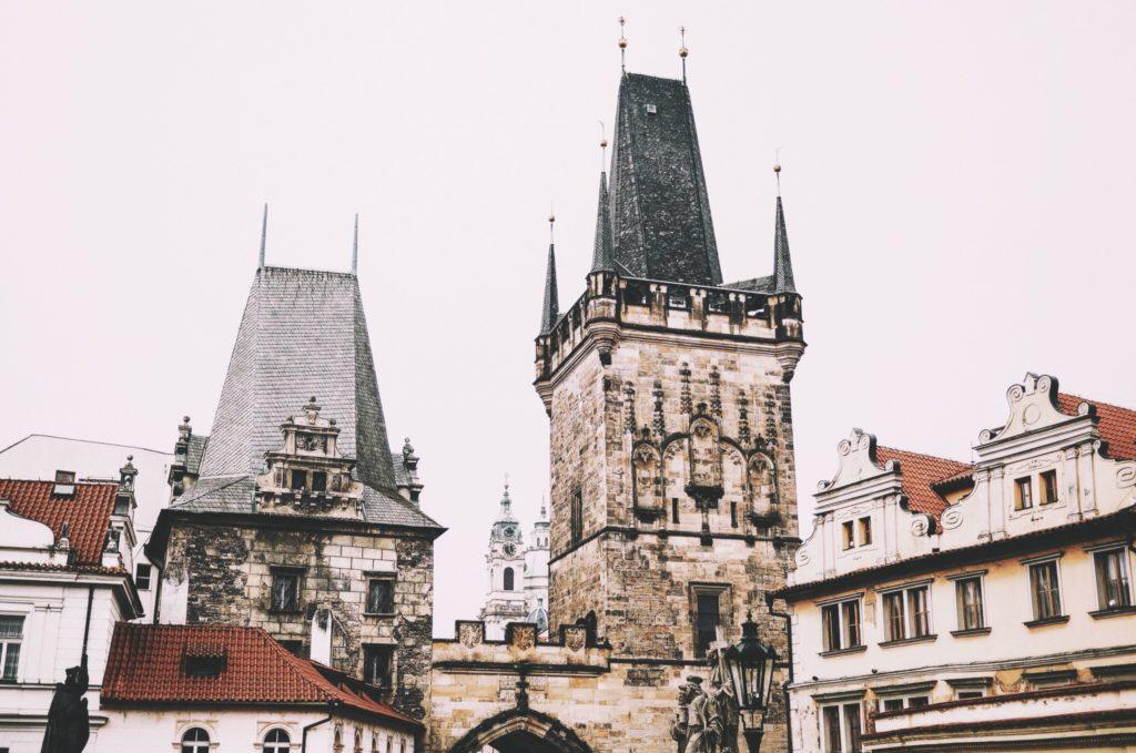Прага в феврале