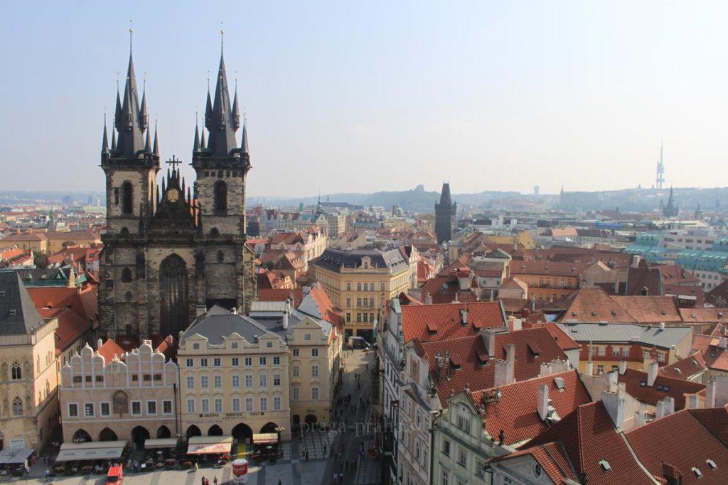 Отдых в Праге в марте