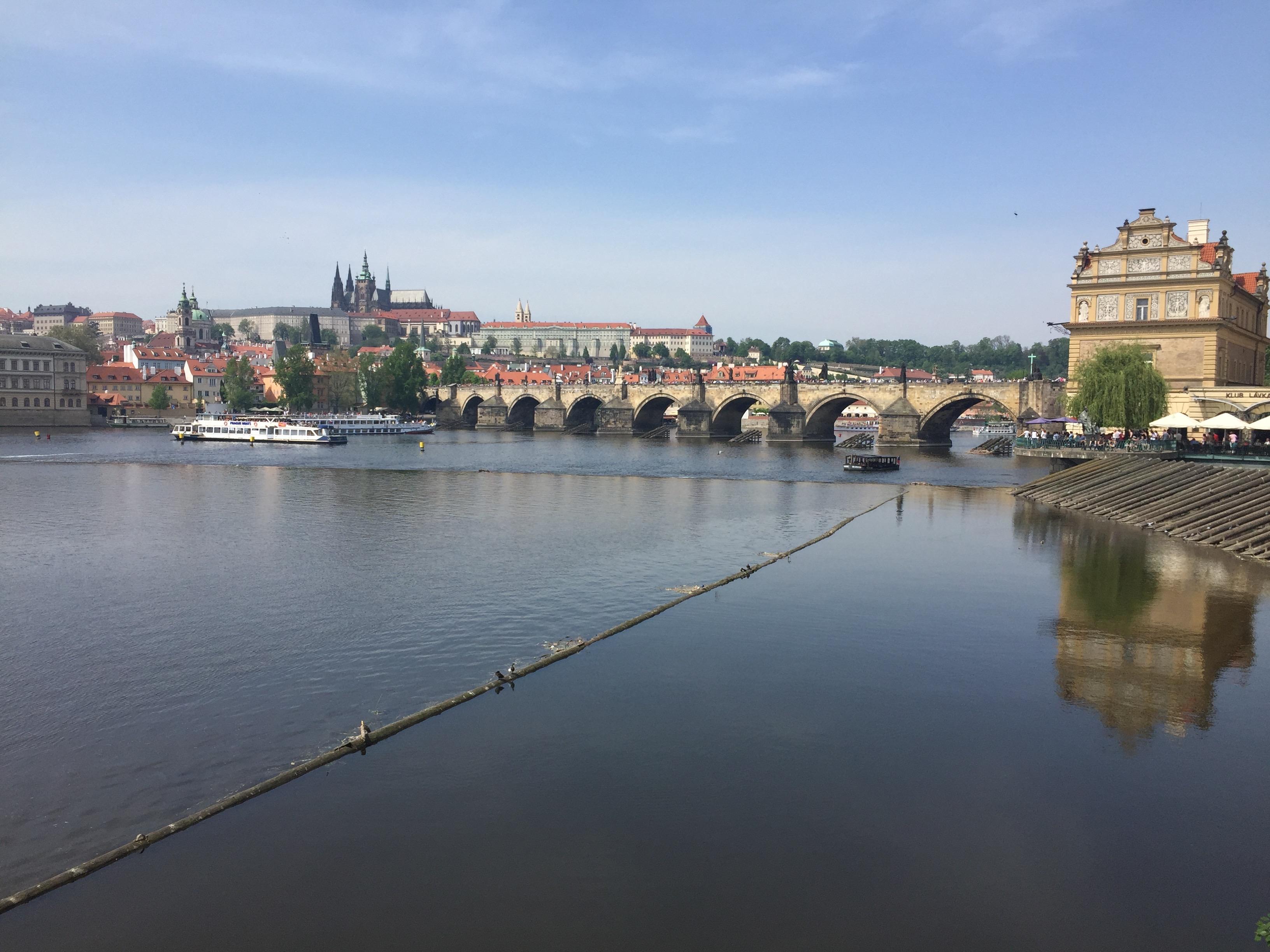 Прогулки в Праге в марте