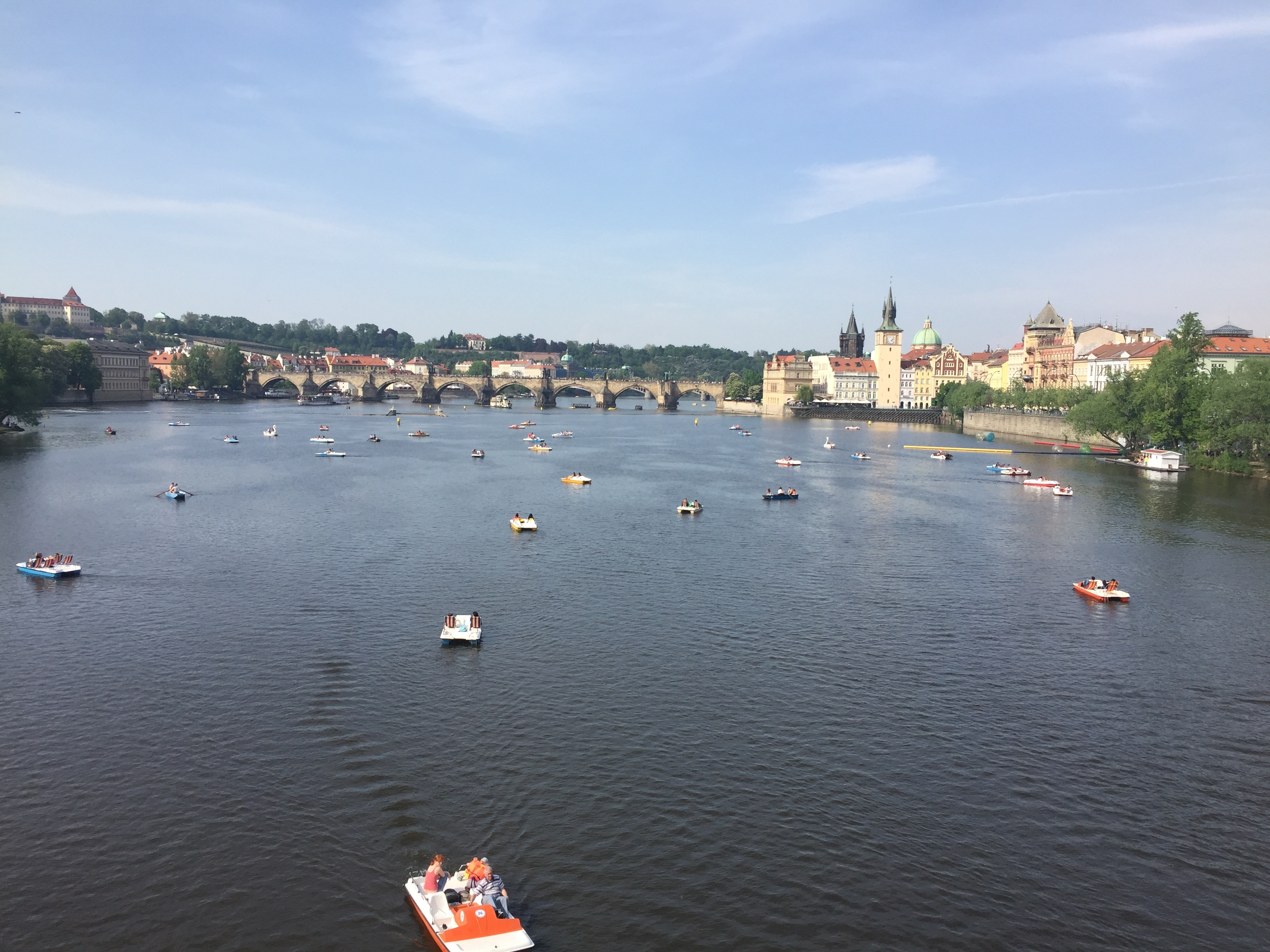 Развлечения в Праге в апреле