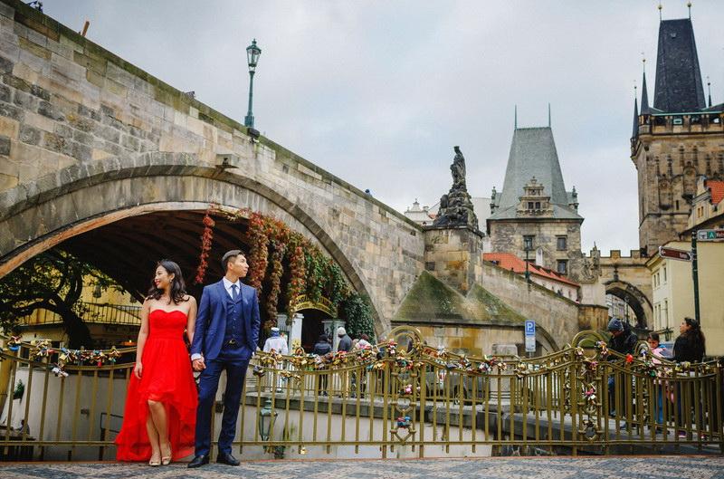 Карлов мост фотосессия