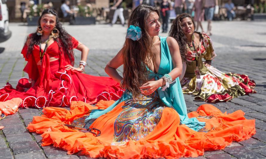 Цыганский фестиваль Хаморо (Khamoro) в Праге