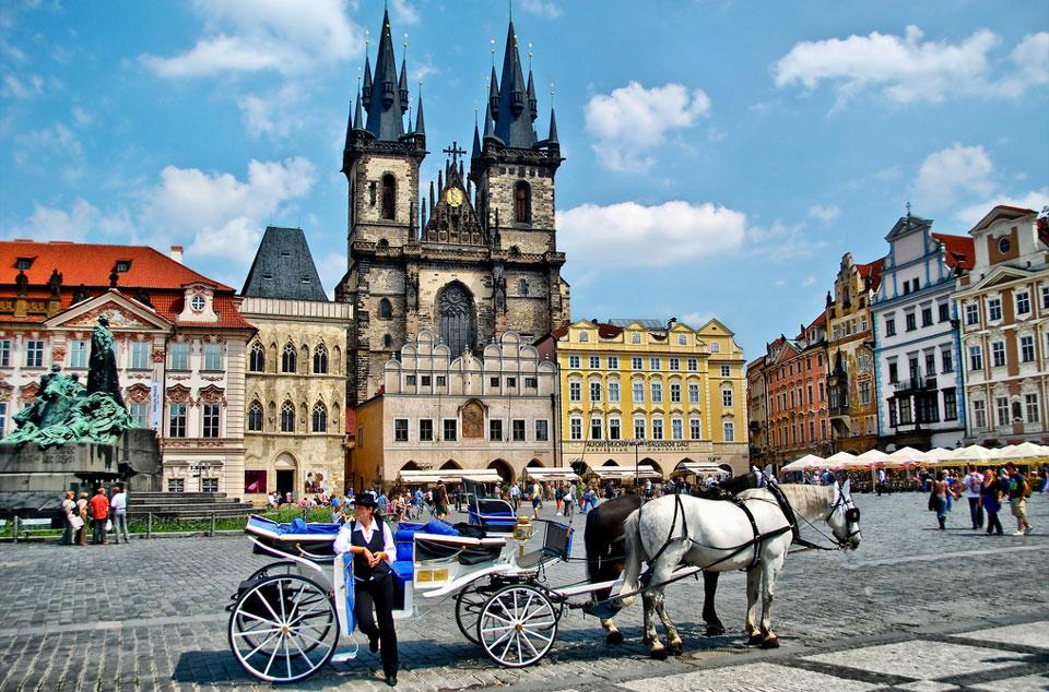 Фото на Староместской площади