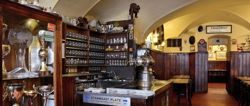 Пивная в Праге
