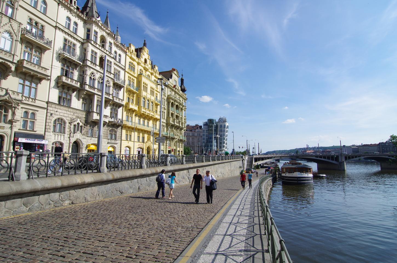 Набережная Праги