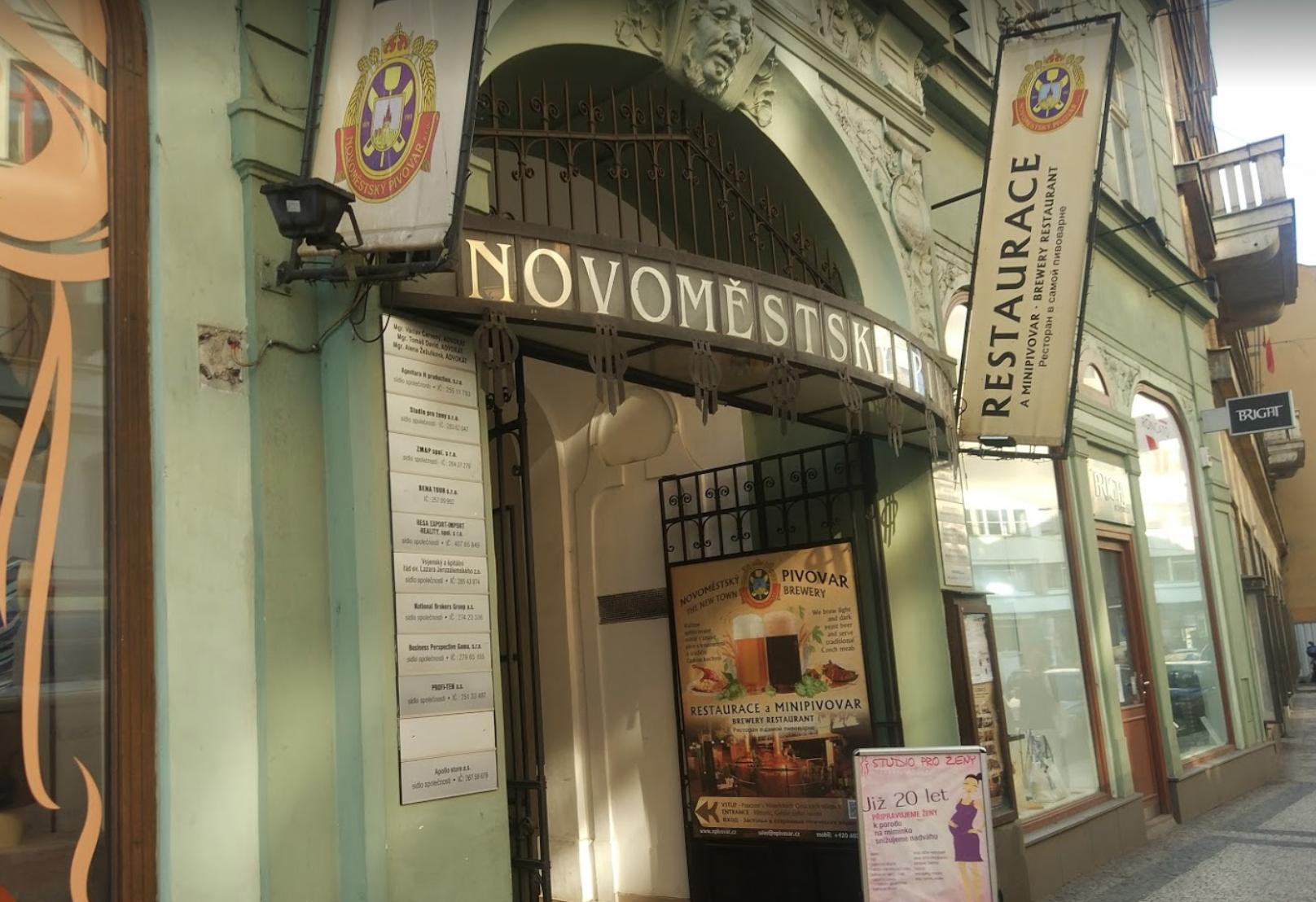 Пивоварня Новоместская (Novoměstský pivovar)