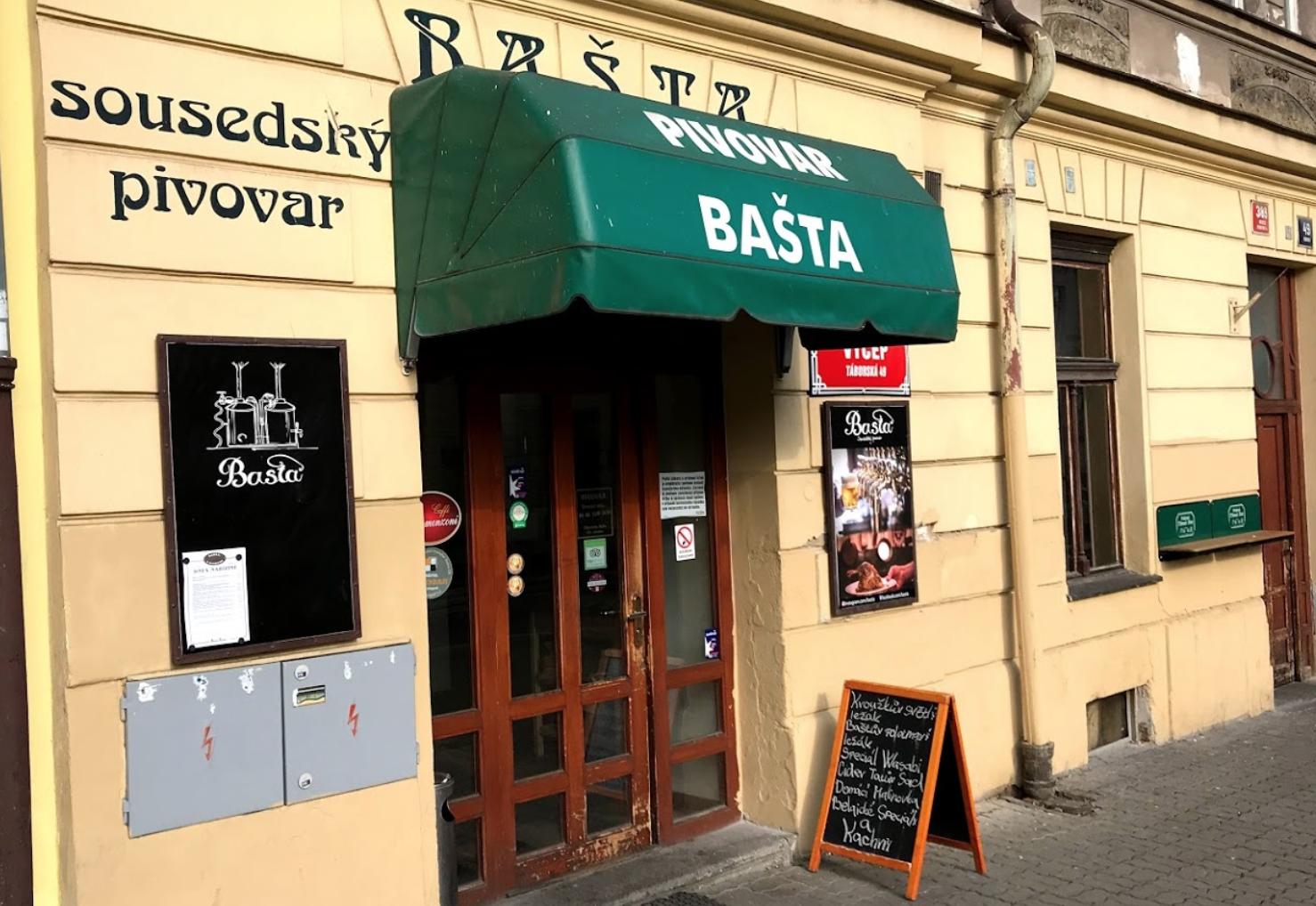 Sousedský Pivovar Bašta
