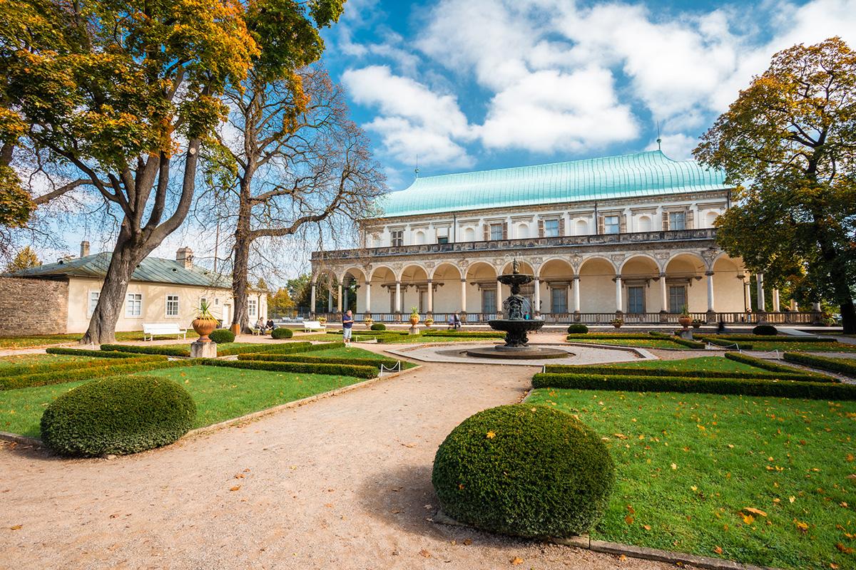 Фотосессия в Королевском саду Праги