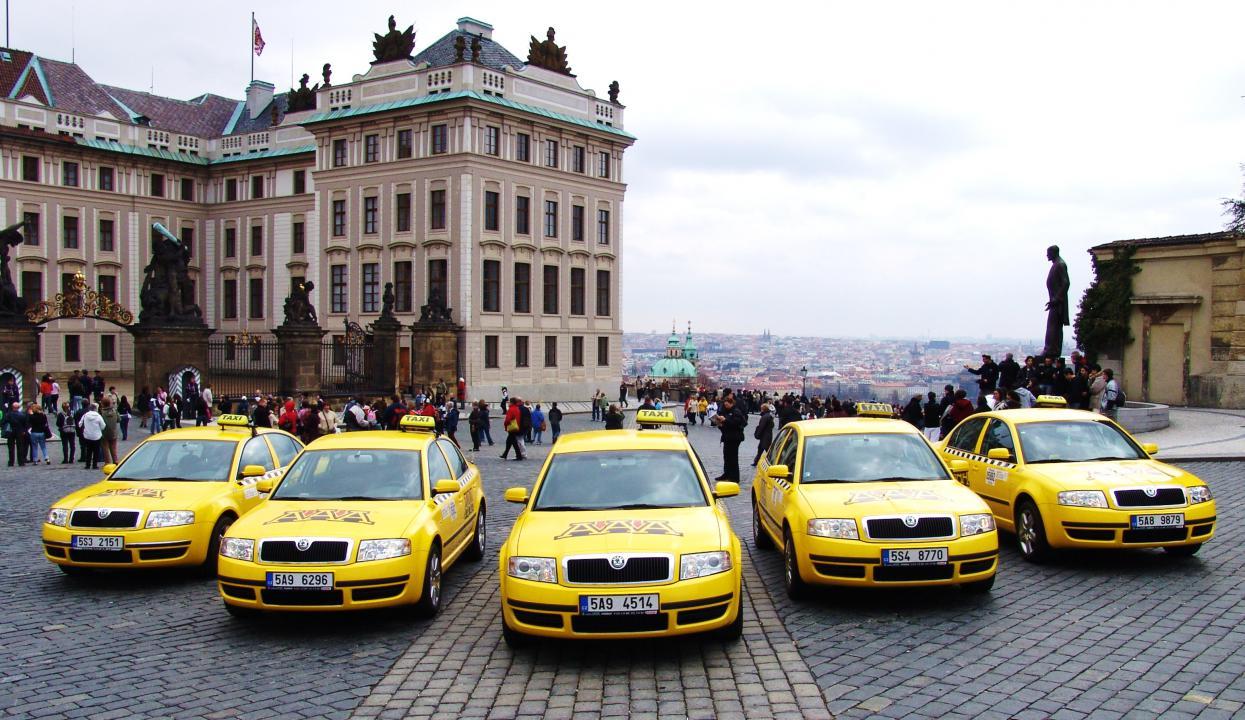 Русскоязычное такси в Праге