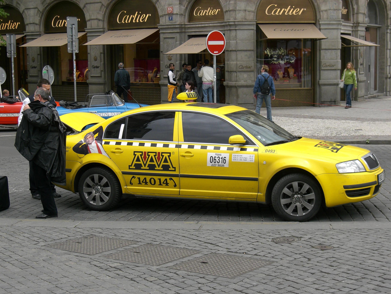 Все про пражское такси