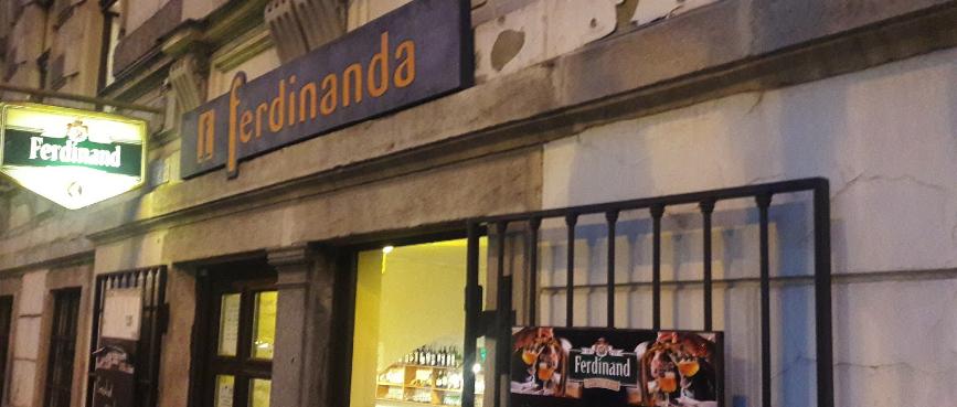 Ресторан U Ferdinanda в Праге