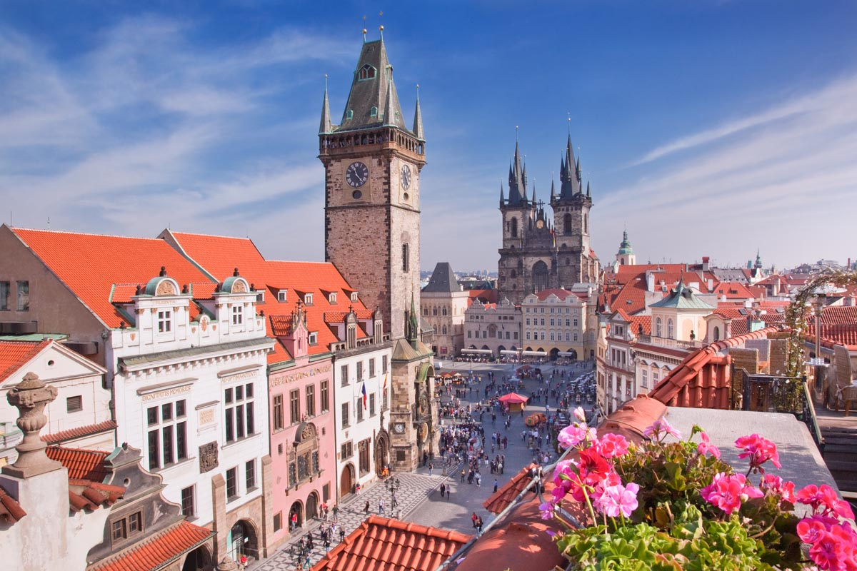 Отдых в Праге в мае